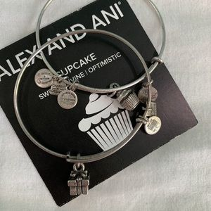 Two Alex and Ani Bracelets